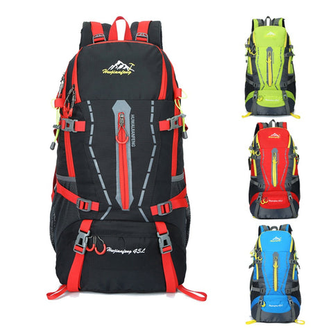 40L Large Capacity Climbing Cycling Backpack -  Waterproof - Nylon - Outdoor Rucksack