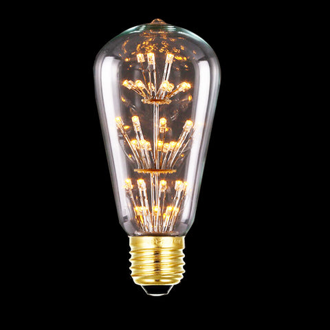 3W LED Vintage Light Bulb -  E27 220V LED Filament lamp