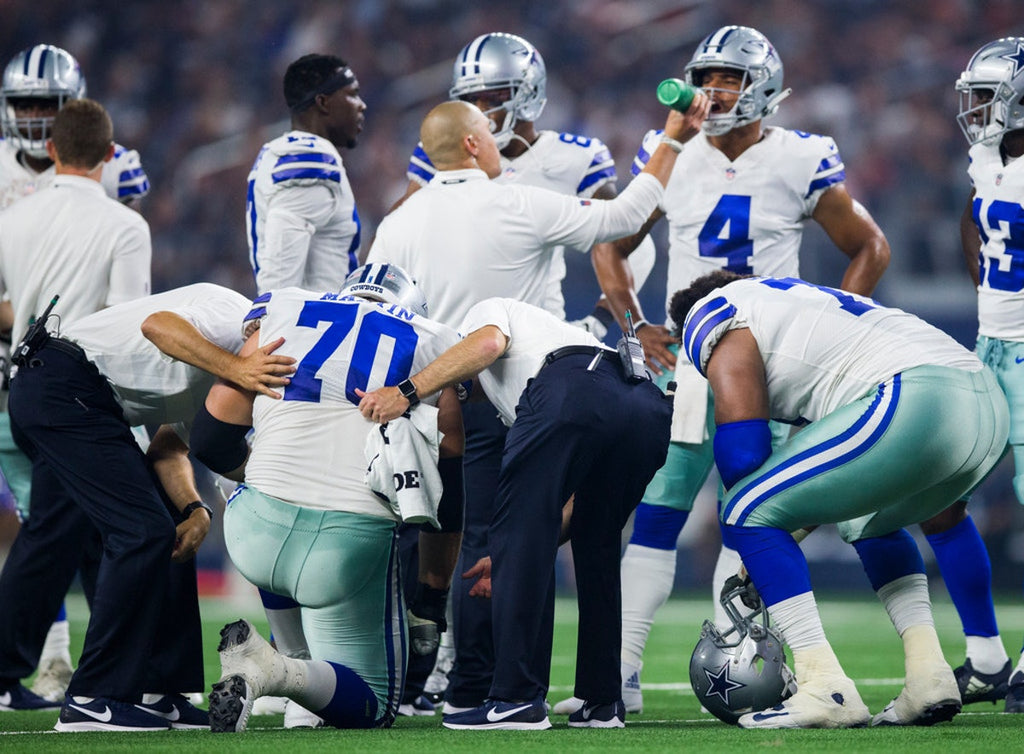 Source: Zack Martin's MRI reveals no significant injury to left knee; could be ready for Cowboys season opener (via #DavidMooreDMN)