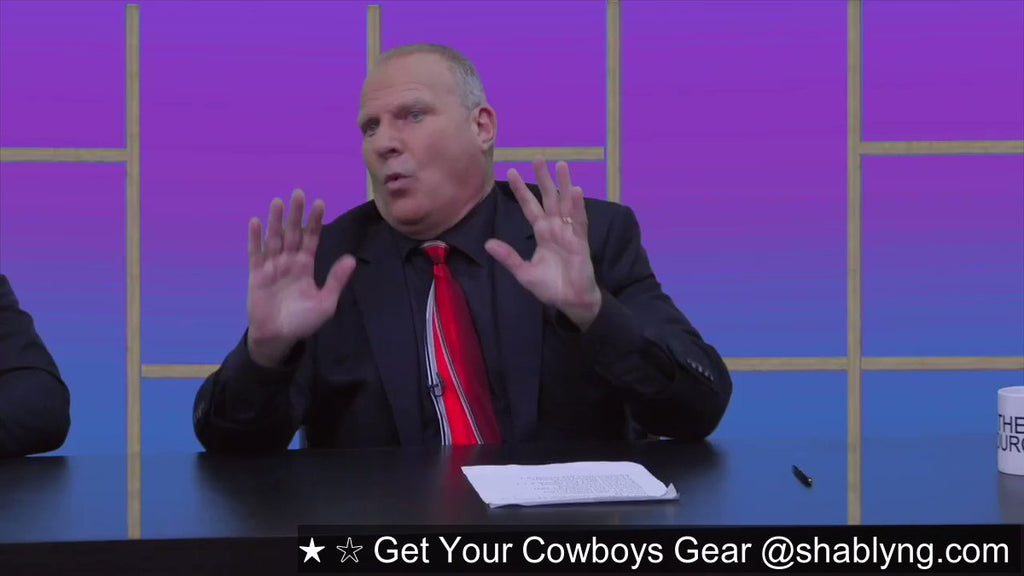 "DALLAS IS READY TO ROLL according to Stu ""The Source"" Feiner, Cowboys roll into Carolina and blow the Panthers out #StuSource #BeAdvised #BSSAdvisors"