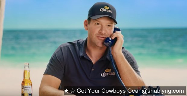 #Cowboys legend (yup) #tonyromo lands new mega-endorsement following award-winning rookie broadcast debut: