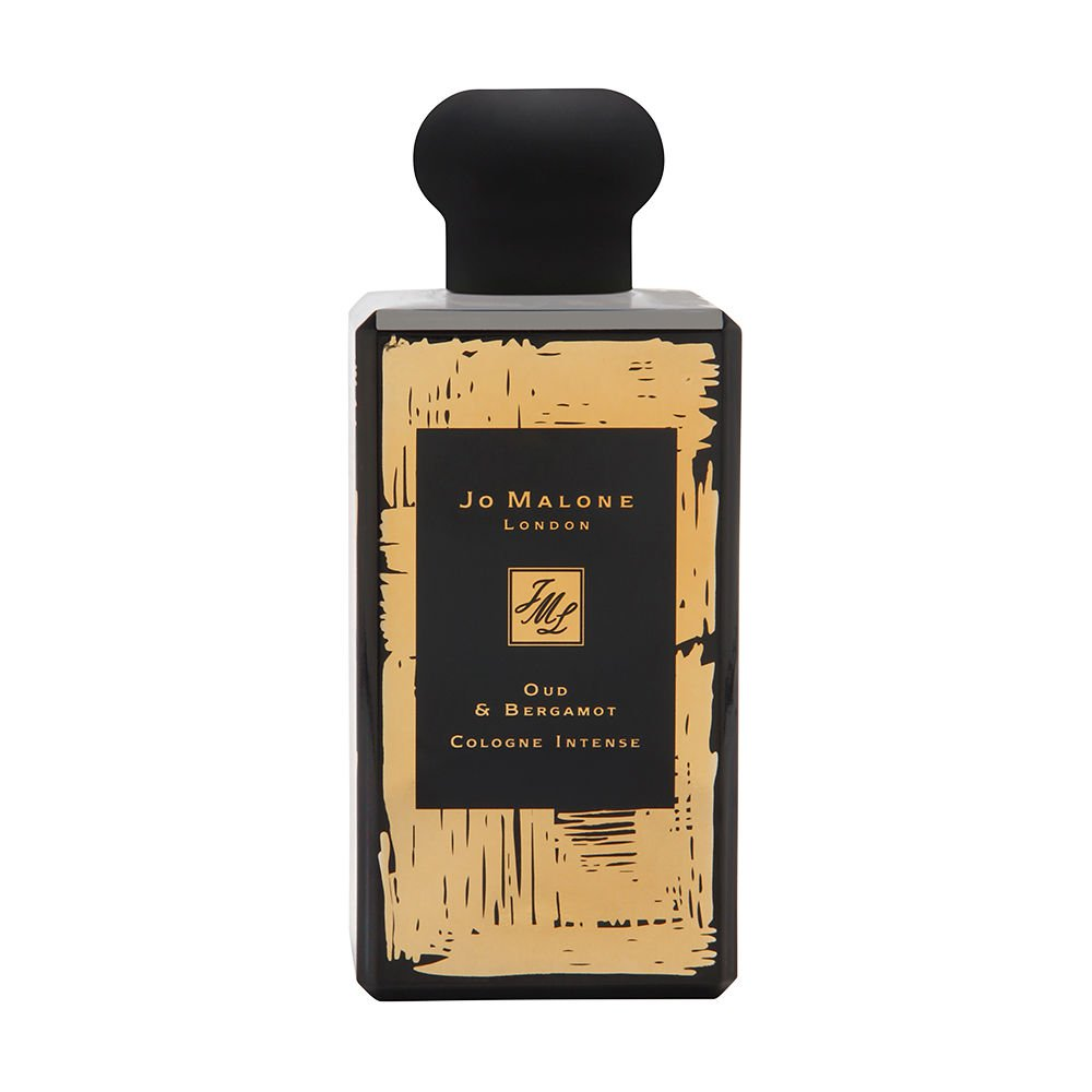 Jo Malone Oud & Bergamot Cologne Intense 3.4 oz Cologne Intense Spray Limited Edition Bottle