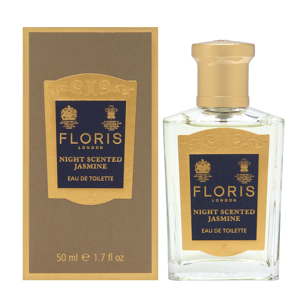 Floris Night Scented Jasmine by Floris London for Women 1.7 oz Eau de Toilette Spray