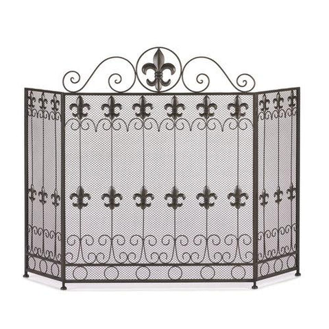 Image of French Revival Fire Place Screen