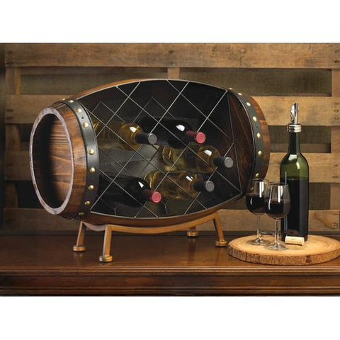 Image of Cask Wine Bottle Rack