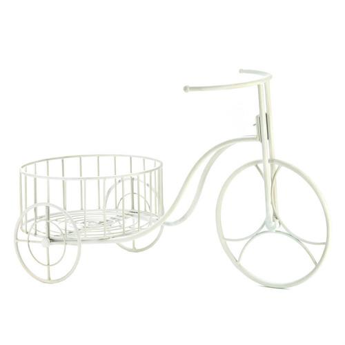White Tricycle Planter