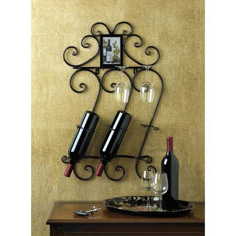 Image of Wine Wall Rack