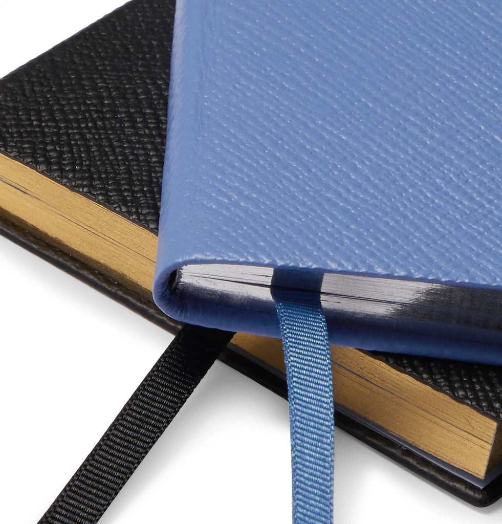 Panama Bright Ideas Cross-Grain Leather Notebook Set