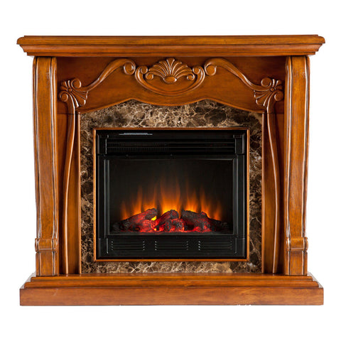 Image of Auden Electric Fireplace