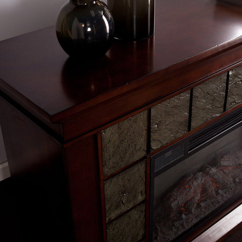 Image of Laughlin Electric Fireplace