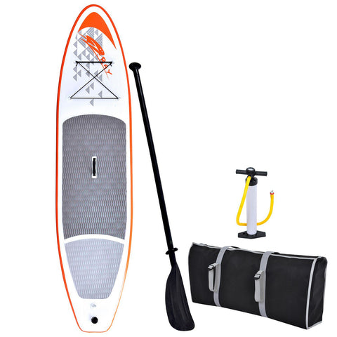 Image of Blue Wave Sports Stingray 11-foot Inflatable Stand-Up Paddle Board with Hand Pump