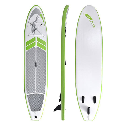 Image of Blue Wave Sports Manta Ray 12-foot Inflatable Stand-Up Paddle Board with Hand Pump