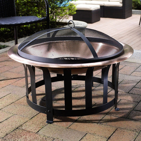 Image of Ridgeway Copper Bowl Fire Pit