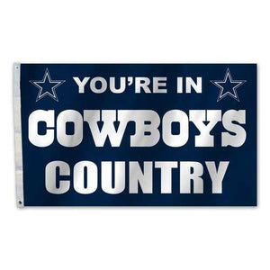 Dallas Cowboys Flag 3x5 Country