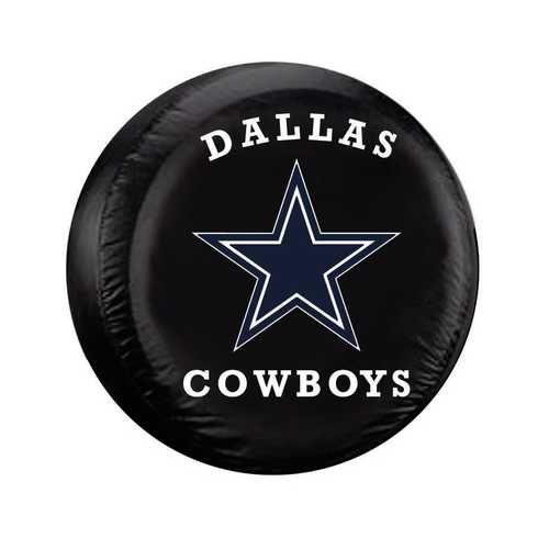 Dallas Cowboys Tire Cover Standard Size Black