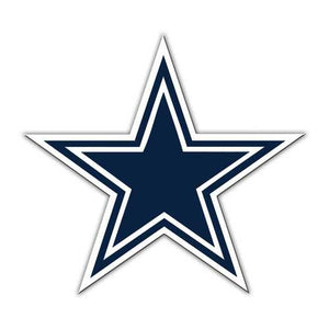 "Dallas Cowboys 12"" Logo Car Magnet"