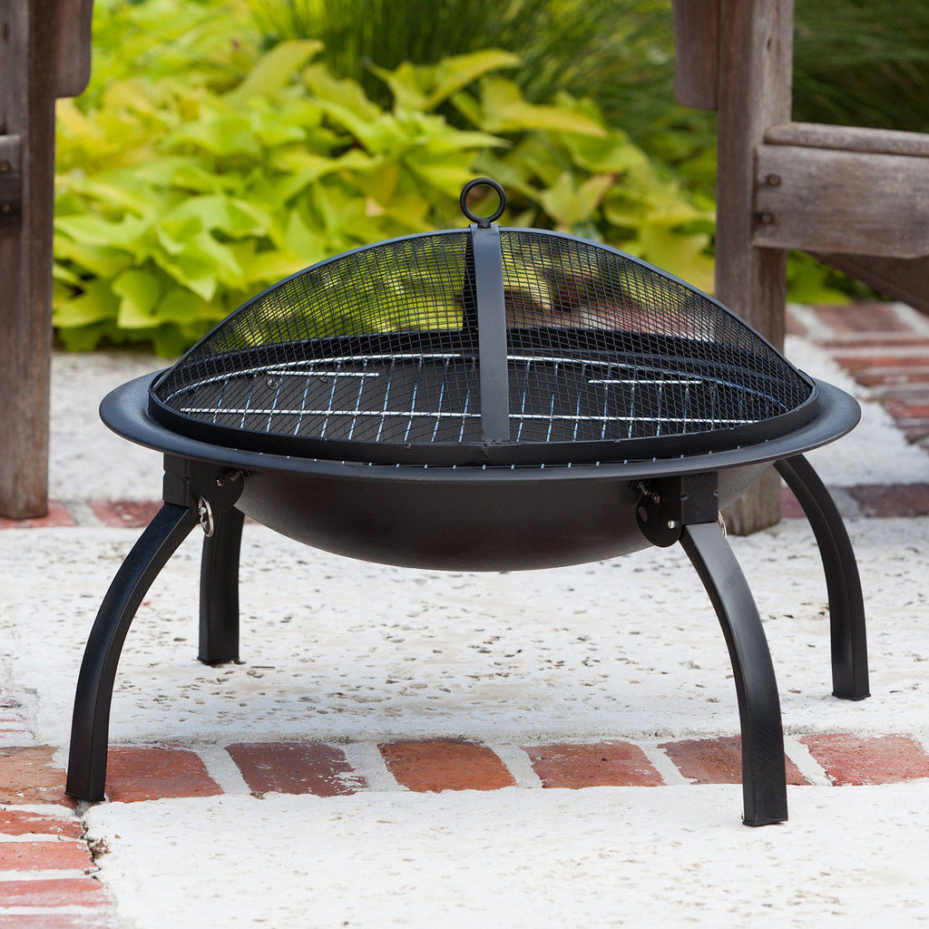 Fire Sense 22-in. Folding Fire Pit