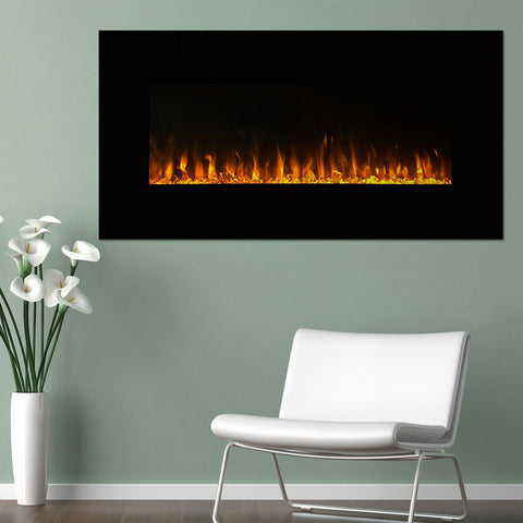 "Image of Northwest 36"" LED Fire & Ice Electric Fireplace & Remote"