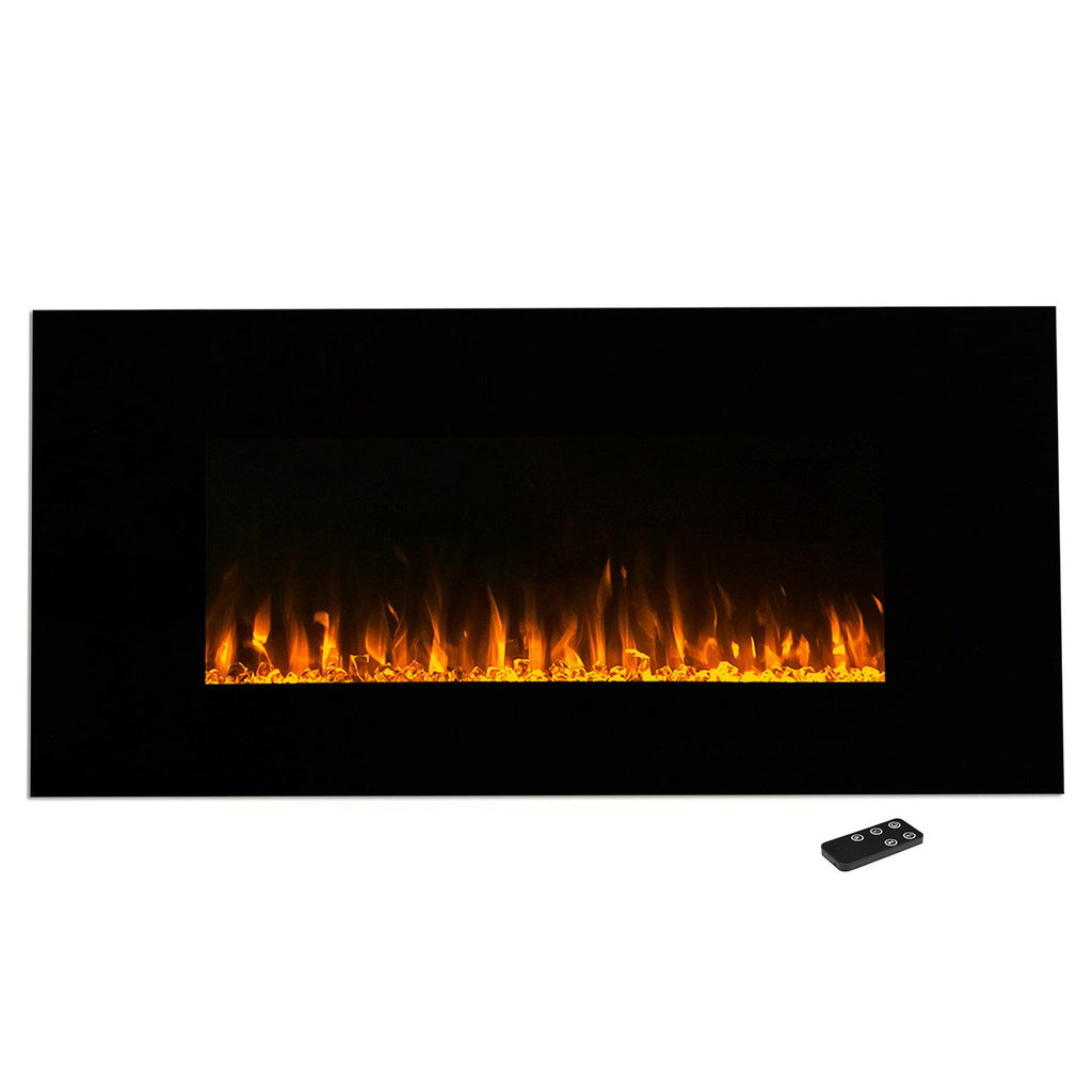 "Northwest 42"" LED Fire & Ice Electric Fireplace & Remote"