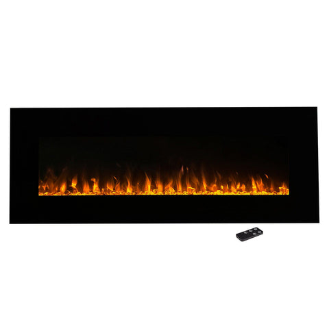 "Image of Northwest 54"" LED Fire & Ice Electric Fireplace & Remote"