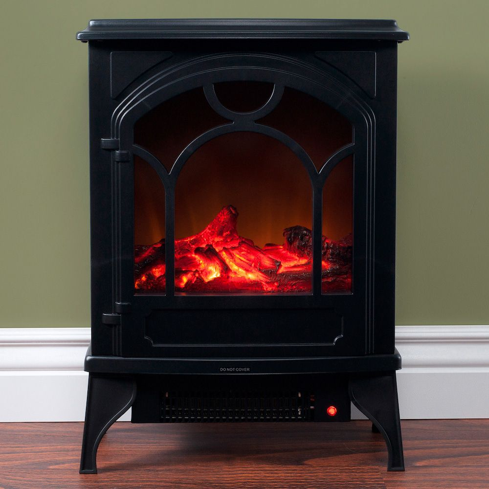 Northwest Free Standing Classic Electric Log Fireplace