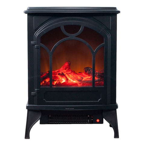Image of Northwest Free Standing Classic Electric Log Fireplace