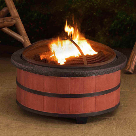 Image of Sunjoy Alta Steel Fire Pit