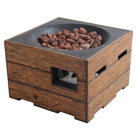 Image of Sunjoy Kent LP Outdoor Fire Pit