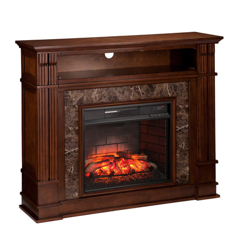 Image of LeBlanc Infrared Electric Fireplace