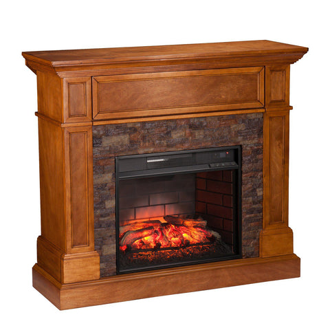 Image of Carney Convertible Infrared Electric Fireplace