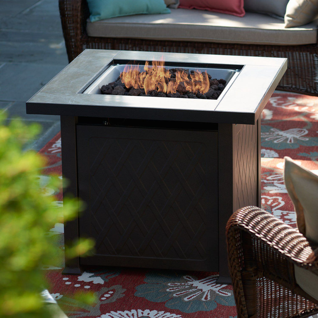 SONOMA Goods for Life™ Outdoor Gas Fire Pit Coffee Table 3-piece Set
