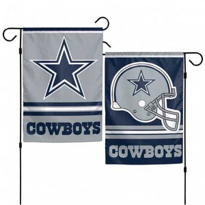 Dallas Cowboys Flag 12x18 Garden Style 2 Sided