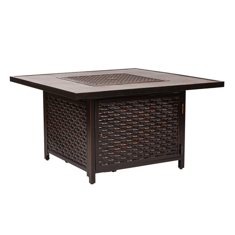 Image of Fire Sense Baker Outdoor Gas Fire Pit Coffee Table
