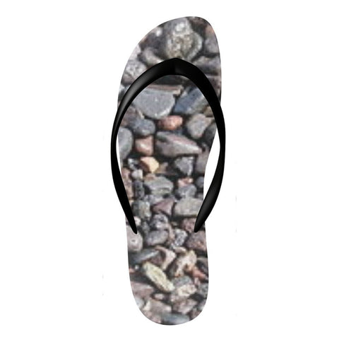 Image of Flinchies (TM) Stones Flip Flops