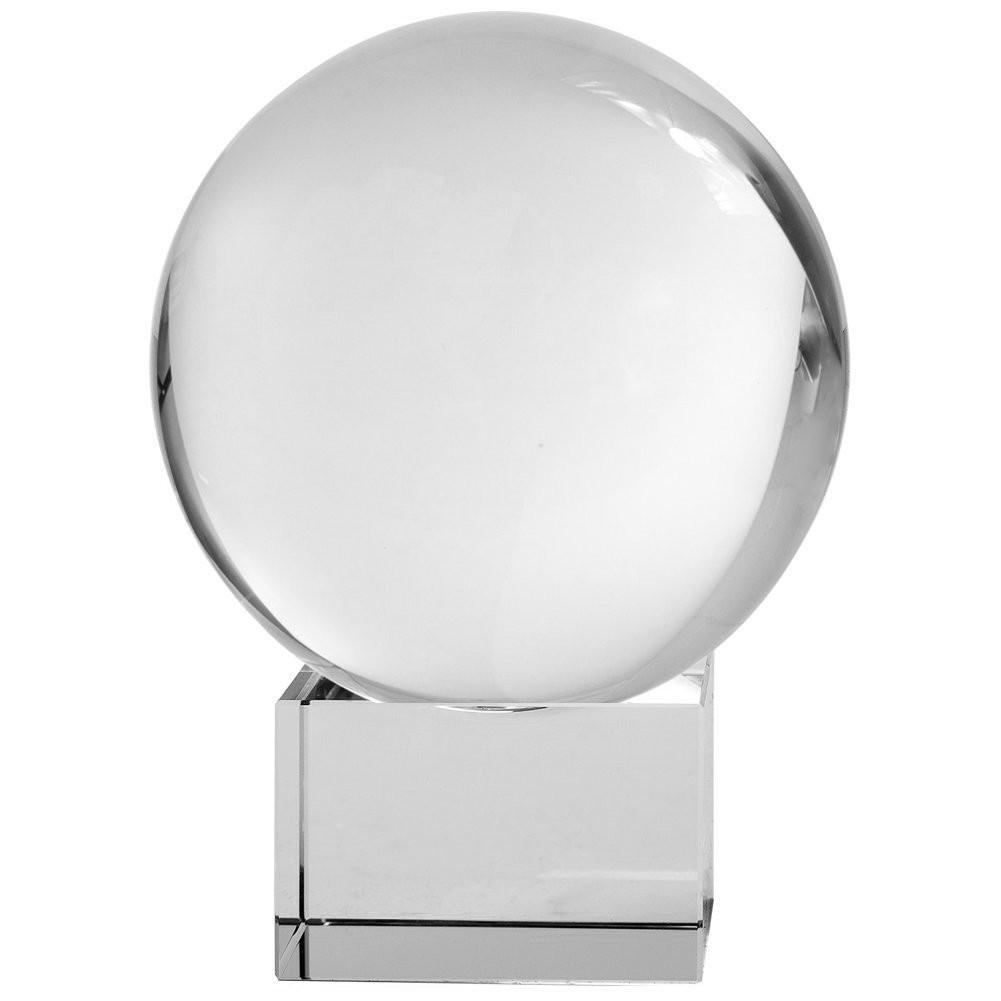 Crystal Meditation Ball with Free Crystal Stand