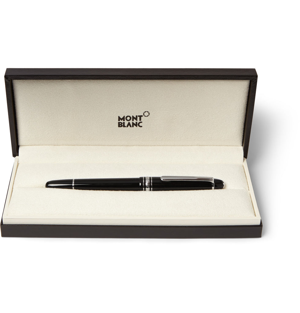 Meisterstück Classique Platinum-Plated and Resin Fountain Pen