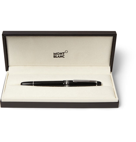 Image of Meisterstück Classique Platinum-Plated and Resin Fountain Pen