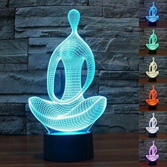 3D LED Colour Changing  Night Light