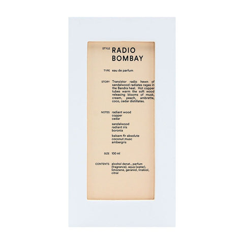 Image of Radio Bombay by D.S & Durga for Unisex