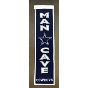 Dallas Cowboys Banner Wool Man Cave
