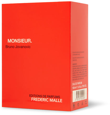 Image of Monsieur Eau de Parfum - Rum, Patchouli, Amber, 100ml