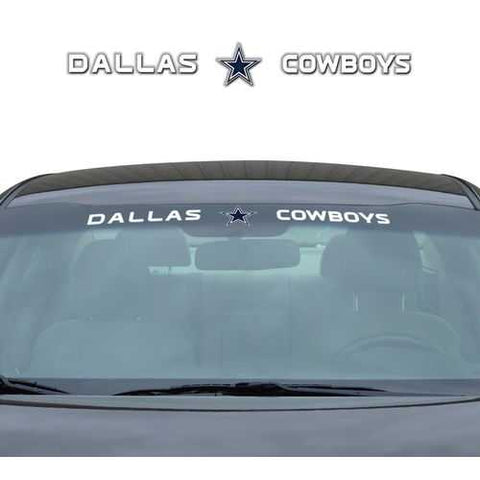 Dallas Cowboys Decal 35x4 Windshield