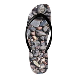 Flinchies (TM) Stones Flip Flops