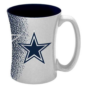 Dallas Cowboys Coffee Mug - 14 oz Mocha
