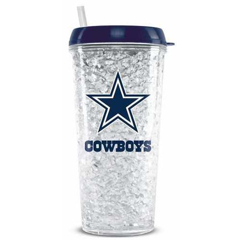 Dallas Cowboys Crystal Freezer Tumbler