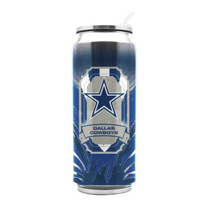 Dallas Cowboys Stainless Steel Thermo Can - 16.9 ounces