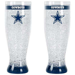 Dallas Cowboys Pilsner Crystal Freezer Style