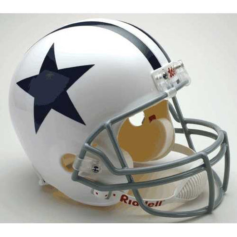 Dallas Cowboys 1960-63 Throwback Riddell Deluxe Replica Helmet