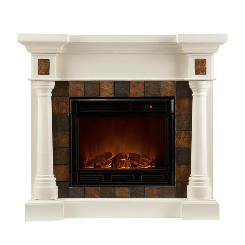 Image of Delaney Convertible Electric Fireplace
