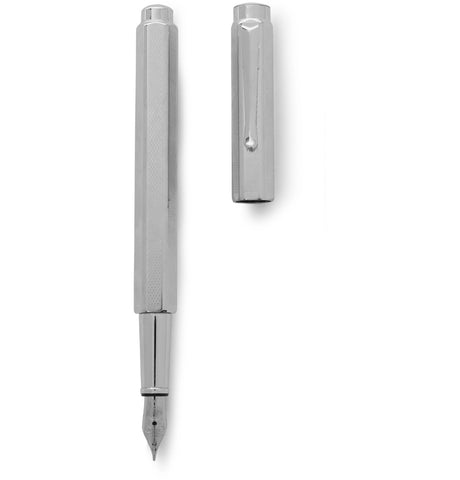 Image of Ecridor Retro Palladium-Coated Fountain Pen